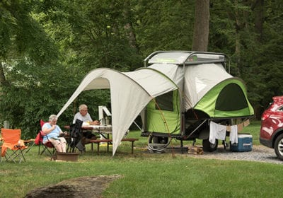 Popup and Tent Sites
