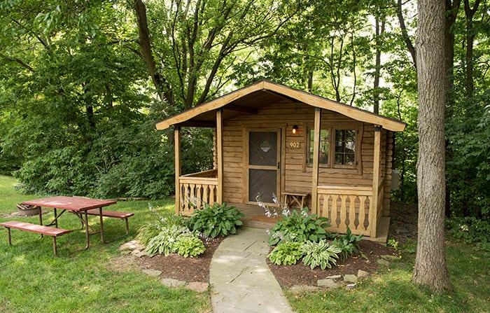 Cabin, exterior