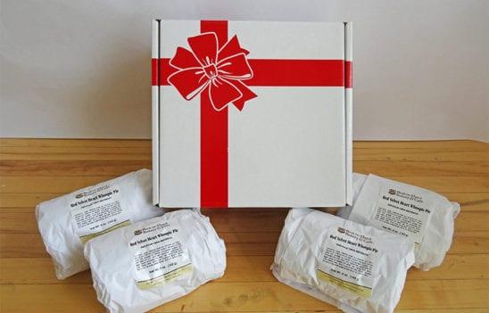 Heart-Shaped Red Velvet Whoopie Pie Gift Box (1 Dozen Whoopie Pies)