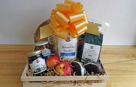 Gourmet Market Gift Crate