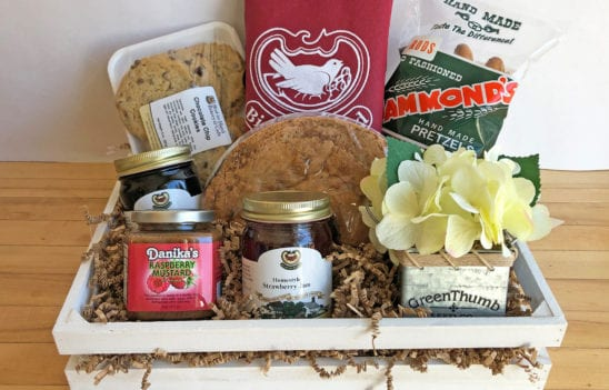 Spring Berry Gift Crate