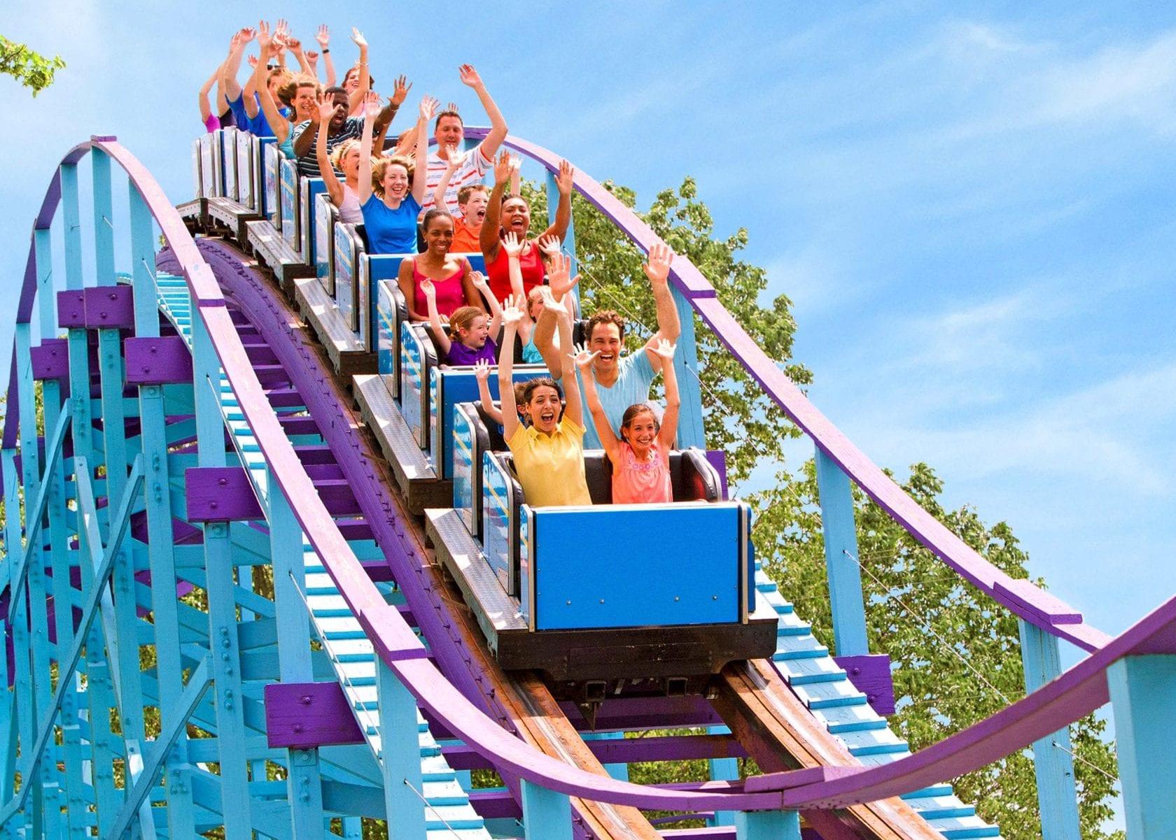 Dutch Wonderland rollercoaster