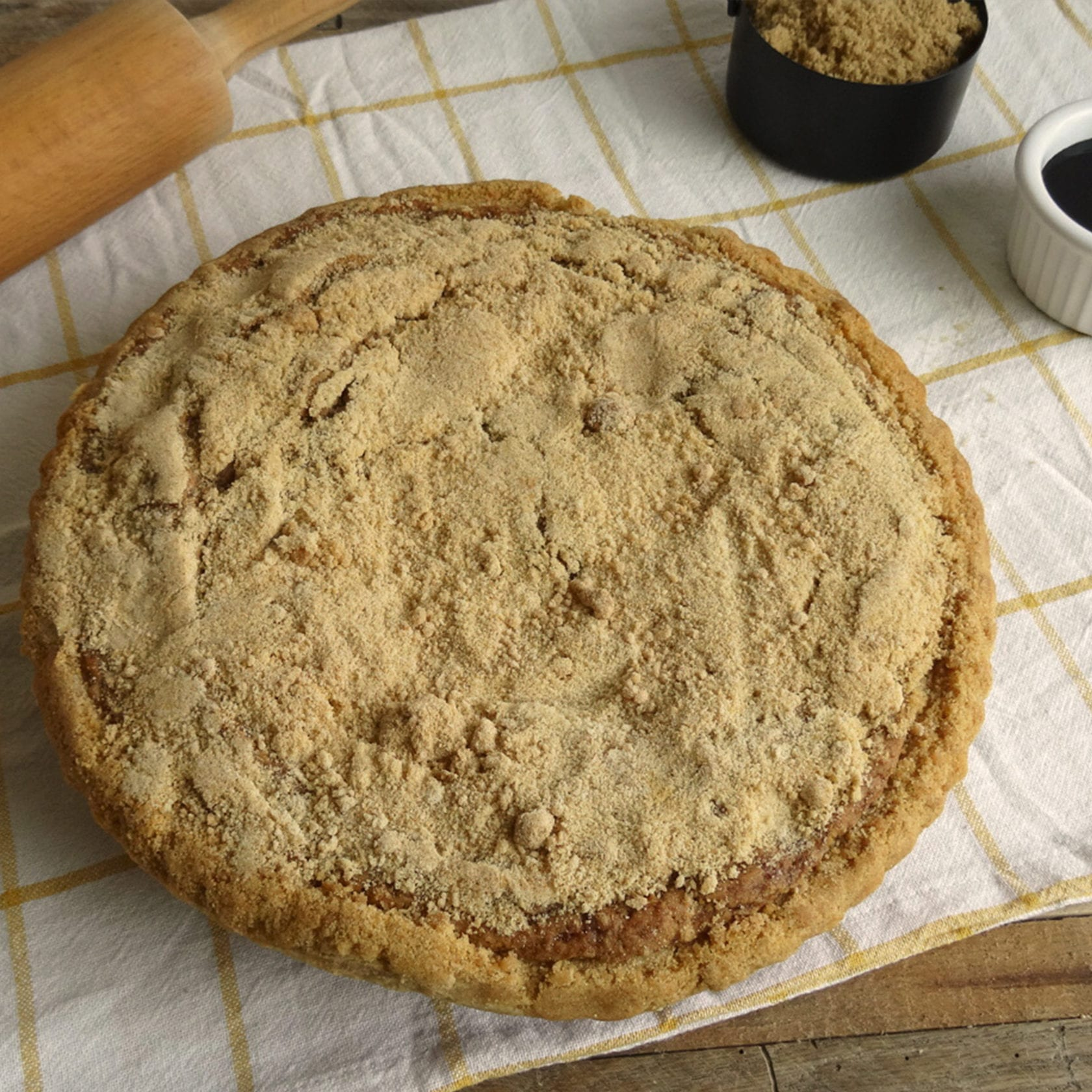 Whole shoofly pie from Bird-in-Hand Bakery & Cafe