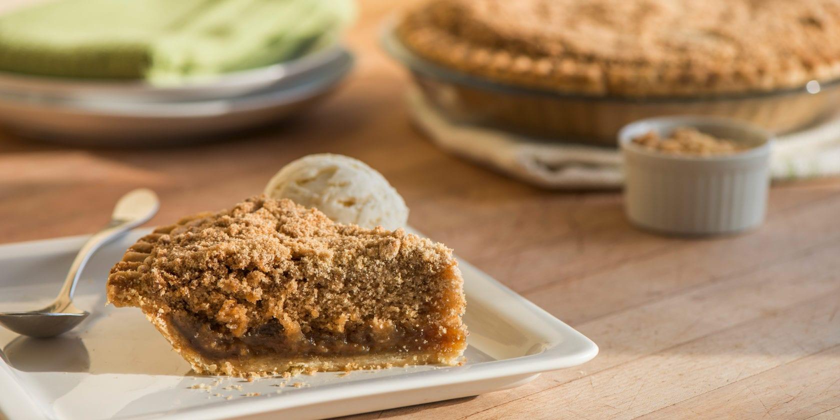 What Is Pennsylvania Dutch Shoofly Pie Bird In Hand