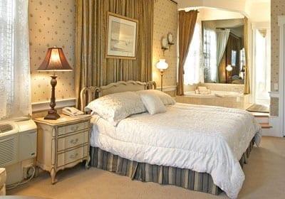 Bedroom in Keener Suite