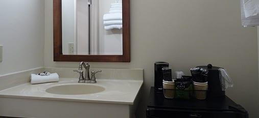 Clean Private Bath at Family Inn