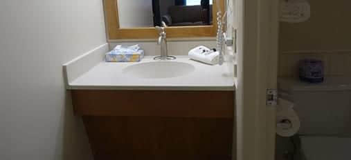 Clean Sink at Family Inn