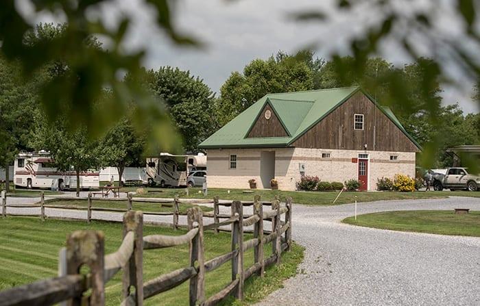 Country Acres Bathhouse