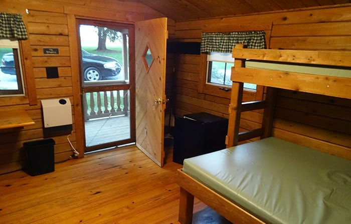 Country Acres Cabin Inside
