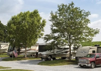Country Acres Campground in Lancaster County, PA