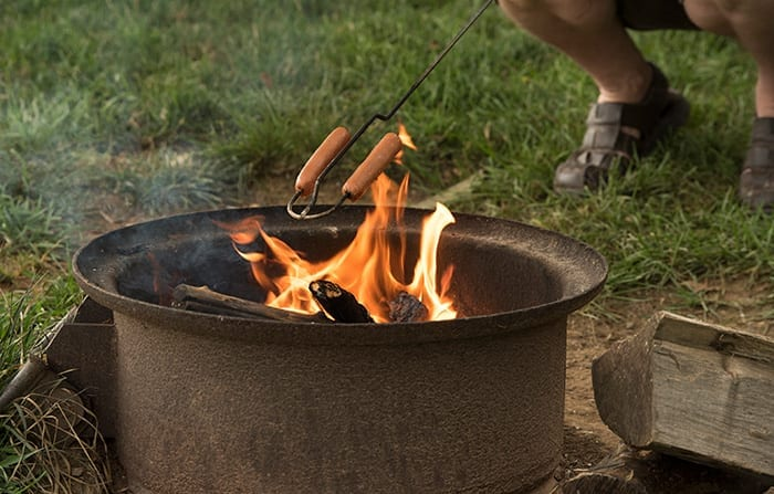 Country Acres Fire Pit