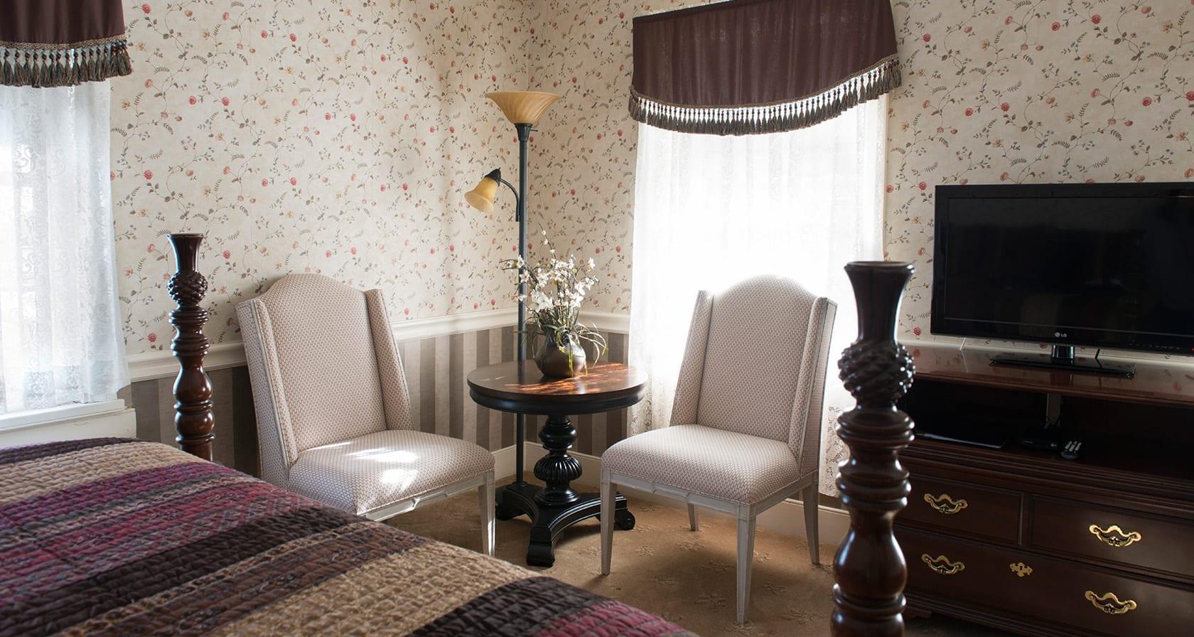 Cozy Chairs Hartman Room