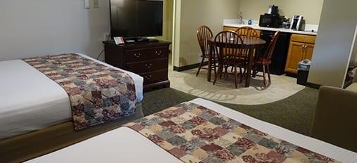 Open living area at Family Inn
