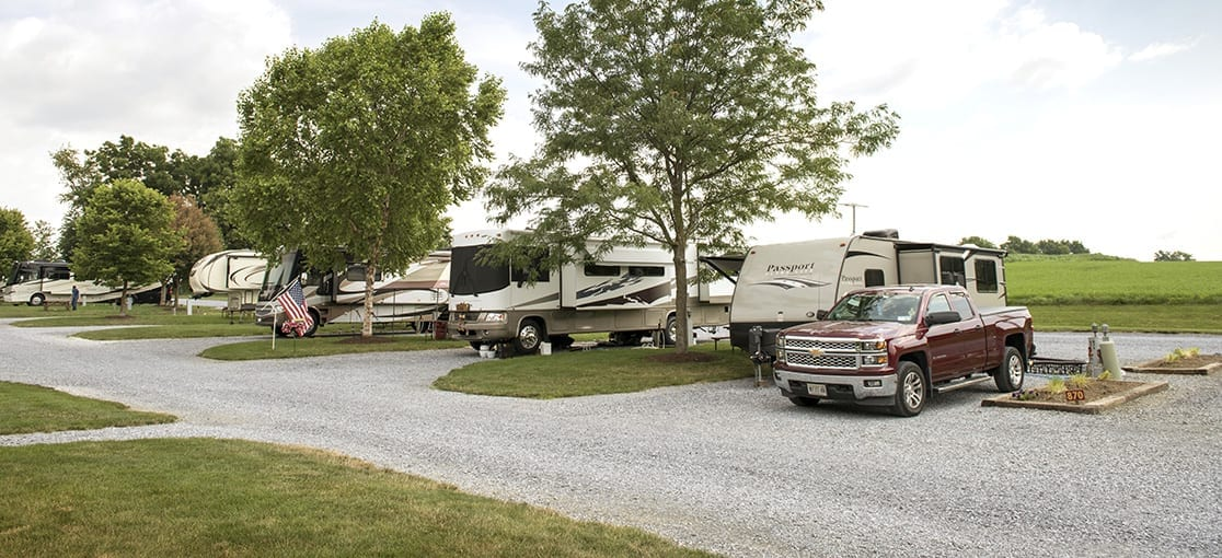Rig Parking at Country Acres