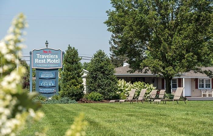 Signage Travelers Rest Motel
