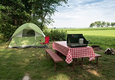 Table Tent Country Acres
