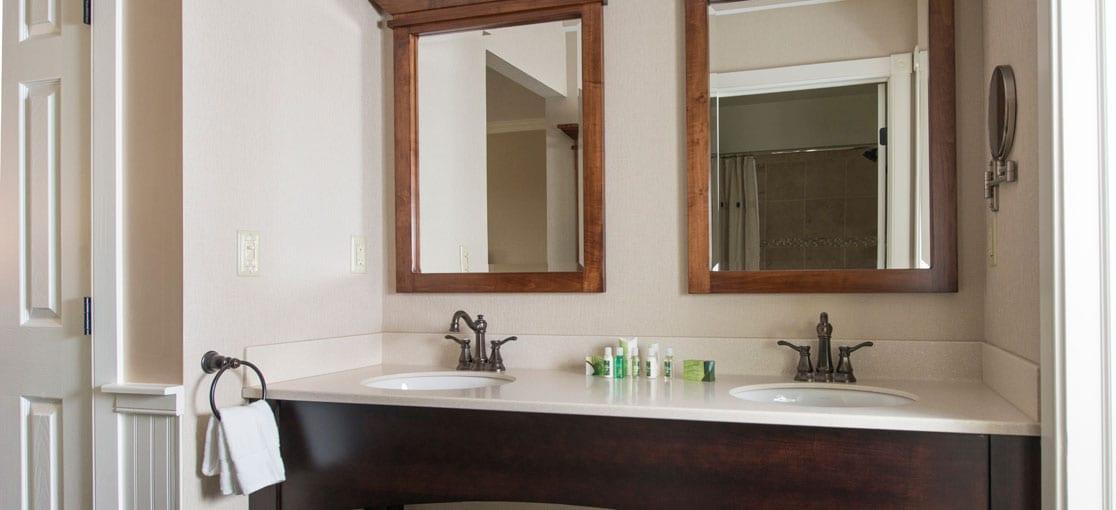 Two Room Bath Area