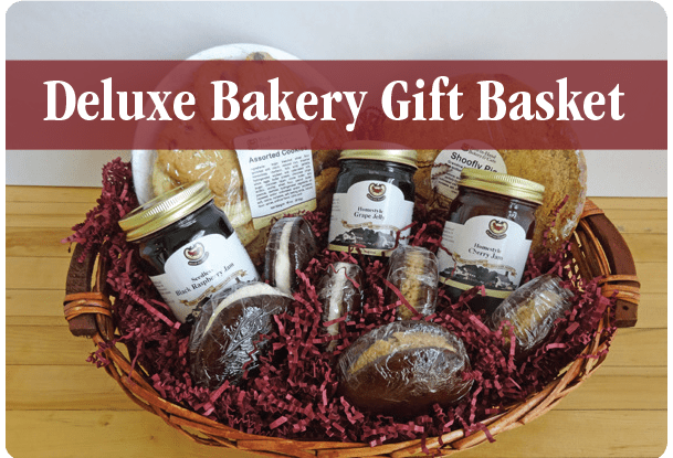 Corporate Gifts: Deluxe Bakery Gift Basket