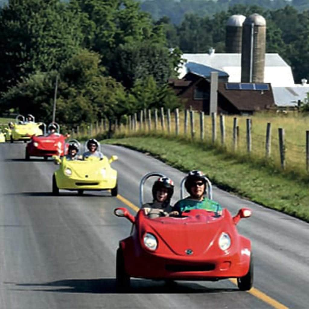 Stay & Scoot package with Strasburg Scooters is one of the the ultimate Lancaster County outdoor things to do