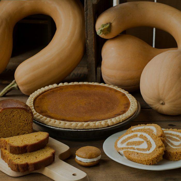 Bird In Hand Fall Treats - Pumpkin Pie